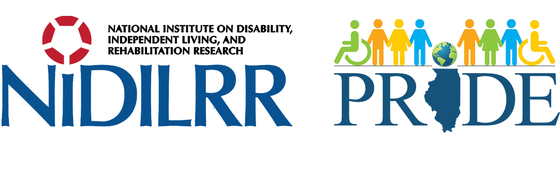 NIDILRR and PRIDE logo