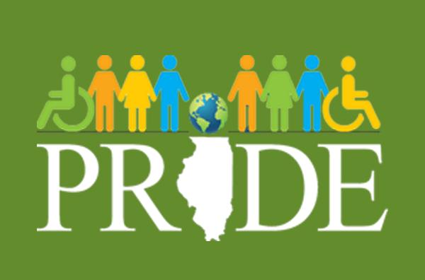 Green PRIDE logo